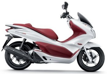 PCX150 SEAT, DOUBLE - RED