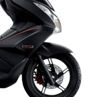 PCX150 FRONT FENDER-MATT BLACK