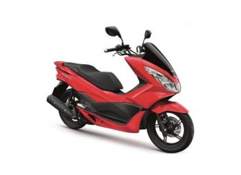 PCX150 COVER, FRONT CENTER-RED