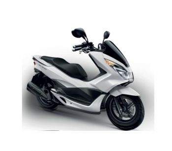 PCX150 COVER, LEFT SIDE-MATT WHITE