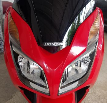 HONDA GARNISH SET, SCREEN-RED
