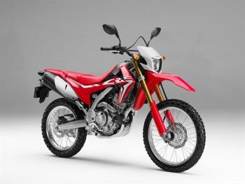 CRF250L FULL SET RED & WHITE PLASTICS ('17)