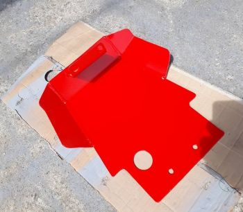 CRF250RL SKID PLATE-RED