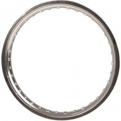 HONDA RIM, REAR WHEEL(18x2.15) - SILVER