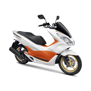 PCX150 STEP,LEFT FLOOR-ORANGE