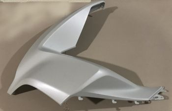 PCX150 COVER, LEFT FRONT-MATT WHITE