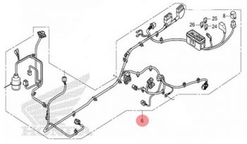 HONDA HARNESS, WIRE