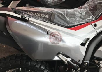 CRF250RL COVER, RIGHT SIDE - GRAY