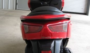 HONDA COVER,RR. BODY LOWER-RED