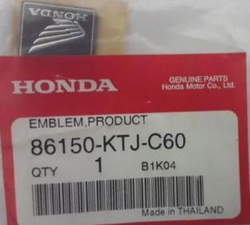 HONDA EMBLEM,PRODUCT (SHINKO)