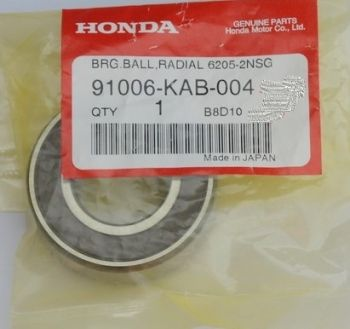 HONDA BEARING,RADIAL BALL,6205UU