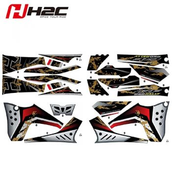 HONDA H2C CRF250RL Stripe Sticker Kit