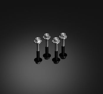 BIKERS STAINLESS BOLT SET FOR WINDSHIELD (4 Pieces)