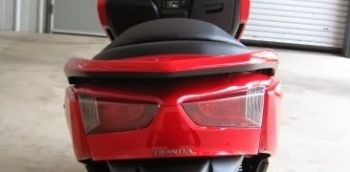 FORZA COVER,REAR BODY UPPER-RED
