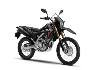 CRF250L'19 FULL SET BLACK PLASTICS