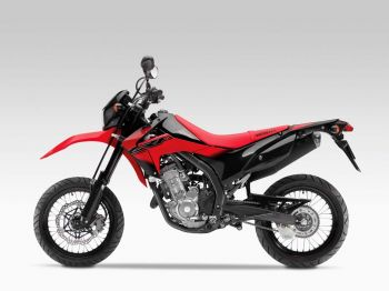 CRF250M FULL SET OF EXTREME RED