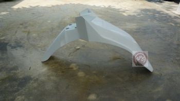CRF250L/M FENDER,FRONT - WHITE