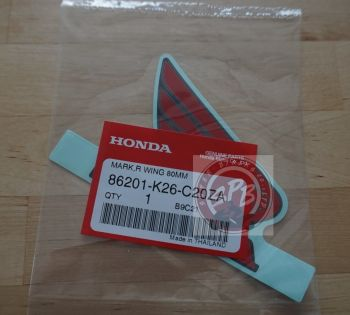 HONDA MSX125SF RIGHT WING MARK -BLACK