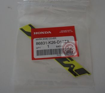 HONDA MSX125SF MARK SIDE COVER-LIME