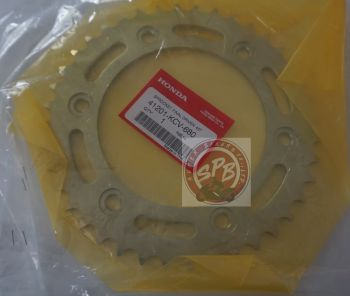 HONDA SPROCKET, FINAL DRIVEN (40T)