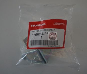 HONDA STAY,SEAT LOCK CABLE