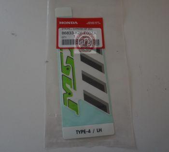 MSX125SF STRIPE,LEFT GARNISH - GREEN
