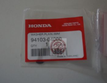 HONDA WASHER,PLAIN 4MM