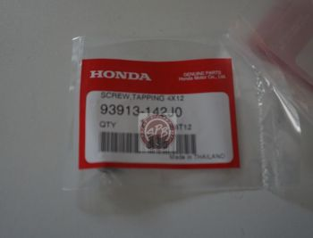 HONDA SCREW,TAPPING 4x12