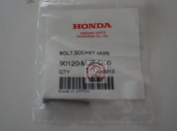 HONDA BOLT,SOCKET4x25 (SUS)