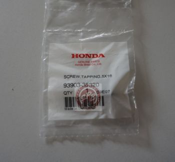 HONDA SCREW,TAPPING 5x16