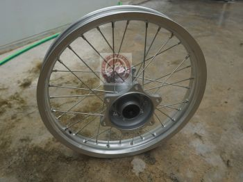 HONDA WHEEL, REAR - SILVER