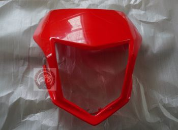 CRF250L/M VISOR,FRONT-RED