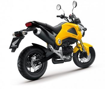 MSX125 FENDER, FRONT-YELLOW