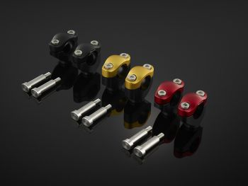 BIKERS BAR CLAMP SET (Used With BIKERS Fat Bar 28.6 mm)