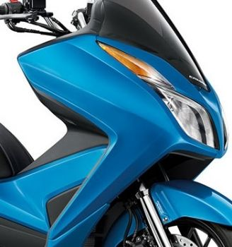 HONDA COVER,RIGHT FRONT-BLUE