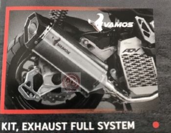 H2C KIT, EXHAUST FULL SYSTEM