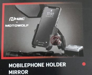 H2C MOBILEPHONE HOLDER MIRROR