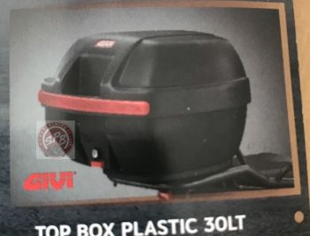 TOP BOX PLASTIC 30LT