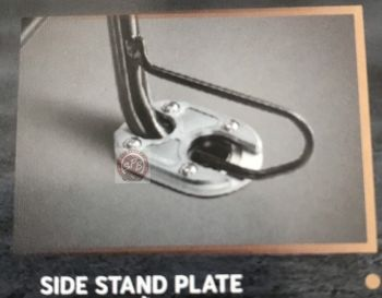 H2C SIDE STAND PLATE