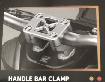 H2C HANDLE BAR CLAMP