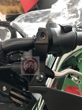 HONDA STAY,LEFT KNUCKLE GUARD