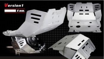 CRF300RL SKID PLATE-MATT BLACK