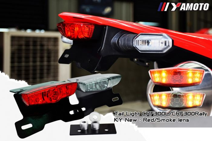 YAMOTO TAIL LIGHT KY NEW-RED